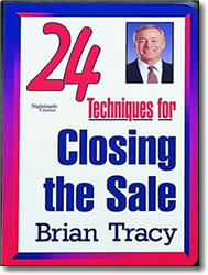 Post image for 24 Techniques for Closing the Sale – DVD