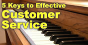 5 Keys to Effective Customer Service