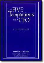 5 Temptations of a CEO - audio