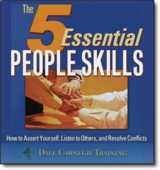 Post image for 5 Essential People Skills – audio