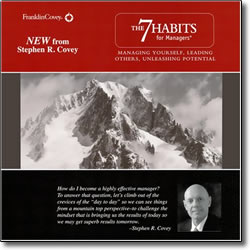 Post image for 7 Habits for Managers – audio
