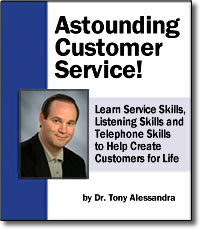 Astounding Customer Service - DVD