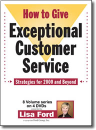 How to Give Exceptional Customer Service 2000 - DVD