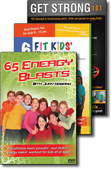 Kids Fitness Video Trio