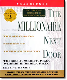 The Millionaire Next Door - audio