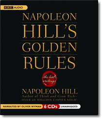 Napoleon Hill's Golden Rules - audio