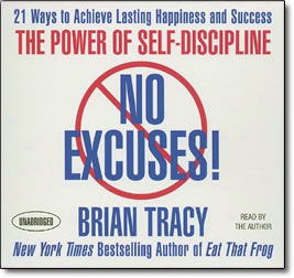 No Excuses: The Power of Self Discipline - audio