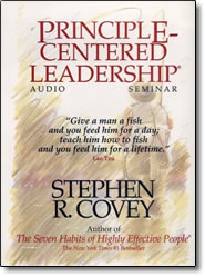Principle Centered Leadership - book