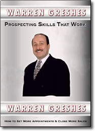 Prospecting Skills That Work - DVD