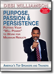 Purpose, Passion, and Persistence - DVD