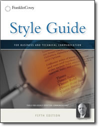 Style Guide - book