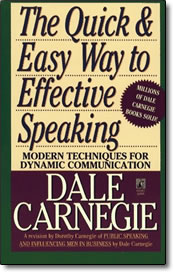 Quick & Easy Way to Effective Public Speaking - book
