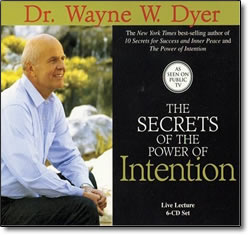 Secrets of the Power of Intention - audio