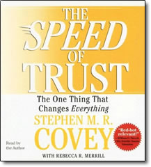 Speed of Trust - Abridged - audio