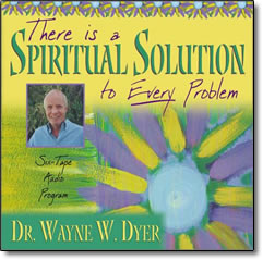 There is a Spiritual Solution to Every Problem - audio
