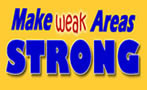 Make Weak Areas Strong