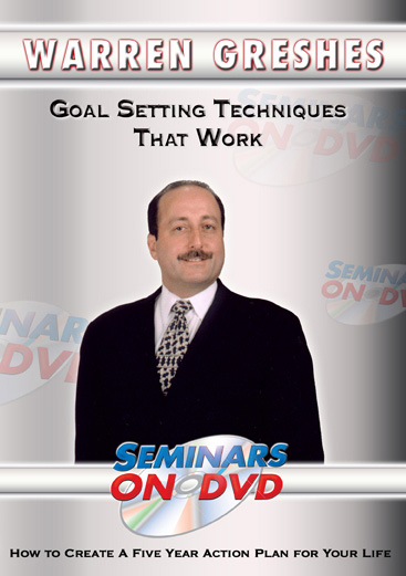 Goal Setting Techniques DVD
