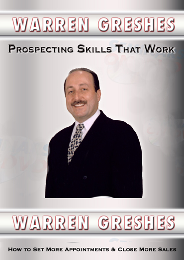 Prospecting Skills That Work by Warren Greshes