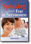 Speaking Without Fear or Nervousness DVD by Helen Sutton