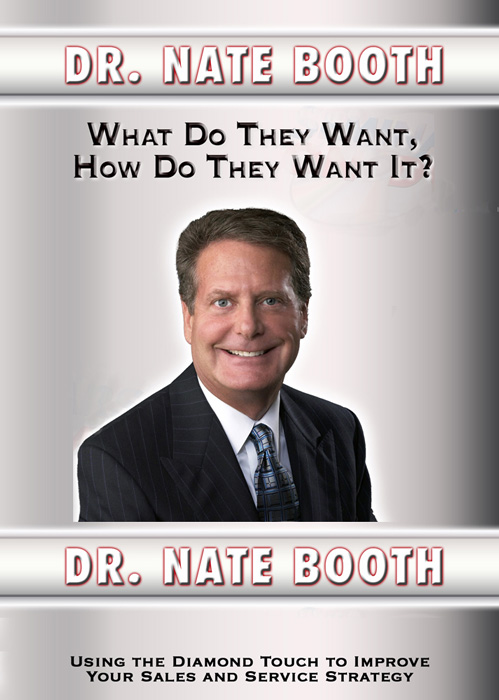 What Do They Want? by Dr. Nate Booth