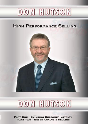 High Performance Selling DVD